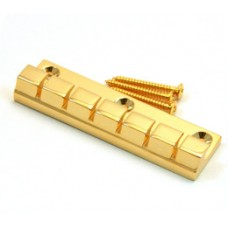 ATP-6-G Gold 6-String Anchor Style Tailpiece