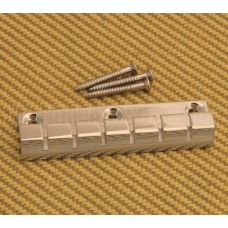 ATP-6-N Nickel Plated Brass 6-string Anchor Type Tailpiece for Guitar