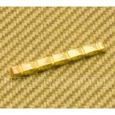 BN-00SB-008 Slotted Flat Bottom Brass Nut