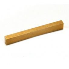 BN-0821-008 Curved Bottom  Brass Nut Blank