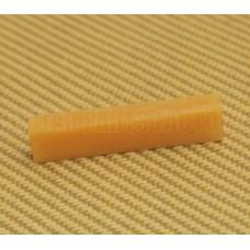BN-2208-000 Unbleached Bone Guitar Nut Blank 1/4