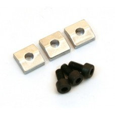 BP 0116-010 Chrome floyd rose nut blocks