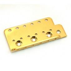 BP-0611-002 Gold Bridge Plate for Vintage Stratocaster