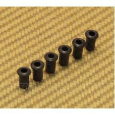 BTSF-4-B (6) Black Custom Body Top String Ferrules