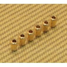 BTSF-4-G (6) Gold Custom Body Top String Ferrules
