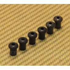 BTSF-5-B (6) Custom 5mm Black Body Top String Ferrules