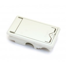 ECB244WH Jim Dunlop Battery Box For Crybaby Pedals White