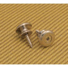 EOSB-N Nickel Large Oversized Guitar / Bass Strap Buttons