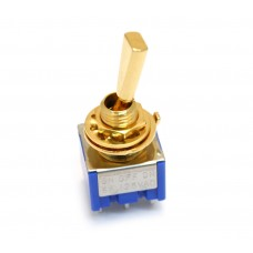 EP-0082-002 Gold Mini Switch On-Off-On