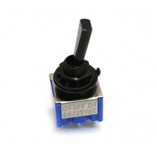 EP-0082-003 Black Mini Switch On-Off-On