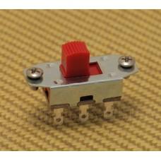 EP-0260-026 On-On Red Button Slide Switch for Fender Jaguar/Jazzmaster® Guitar