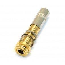 EP-4PJ-G (1) Gold 4-pin Endpin Jack for Acoustic Guitar/Bass w/Fishman Preamp