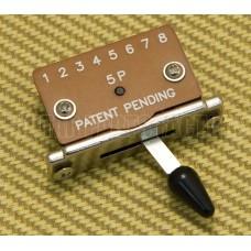 EP-H13-B 5-Way Pickup Selector Switch w/ Black Tip