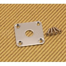 FSJP-C Chrome Flat Square Metal Jack Plate