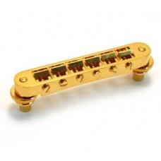 GB-0540-002 Schaller Nashville Gold Tunematic Guitar Bridge