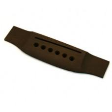GB-0850-0E0 Ebony Acoustic Guitar Bridge Slightly Oversized