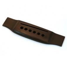 GB-0850-0RF Acoustic Guitar Bridge, Finished Rosewood