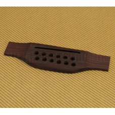 GB-0851-0RF 12-String Rosewood Acoustic Bridge w/Saddle