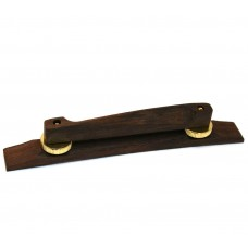 GB-2535-000 Rosewood/Gold Bridge Assembly for Jazz Style Archtop Guitar