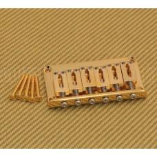 SB-5115-002 Gotoh Gold Hardtail Guitar Bridge