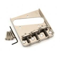 GB-TTS-N Nickel Single Groove 3-Saddle Bridge for Fender Telecaster/Tele®