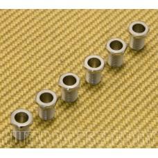 GP072 Grover Guitar Rotomatic Machine Head Screw-in Chrome Tuner Bushings (6)