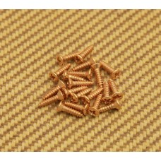 GS-0050-002 Gold Pickguard Screws for Gibson