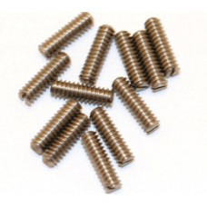 (12) TALL SLOTTED STAINLESS BRIDGE SCREWS FOR STRAT