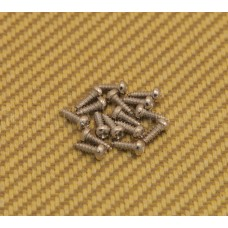 GS-3806-001 (16) Nickel Hardened Steel Tuner Mounting Screws For Guitar or Bass