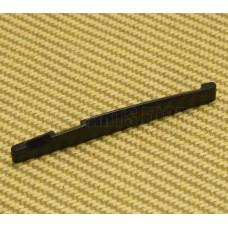GS-72-BLK-L Black Plastic Comp Saddle Acoustic Guitar