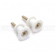 GSP-W Grover Plastic White Strap Buttons