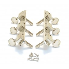 H138N Grover Vintage Strip Tuners for Slotted Peghead Guitar