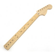 LMO Allparts Unfinished Big Headstock Maple Strat Neck