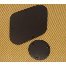 LPIBP-B Black Back Plate Set For Import Les Paul