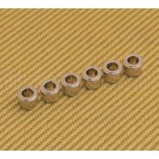 MB65N-L Metric 6 Kluson Nickel Press-In Guitar Tuner Adapter Bushings 6mm-10mm