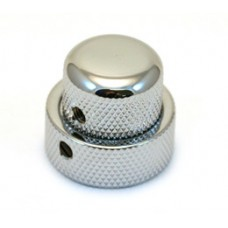 MK-0137-010 (1) Chrome/Chrome Stacked Knob for '62 Jazz Bass/CTS Stack Pot