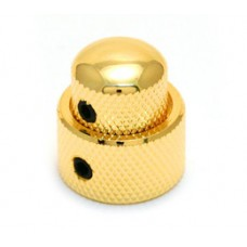 MK-0138-002 Gold Mini Concentric Stacked Knob