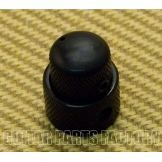 MK-0138-003 Concentric Stacked Mini Black Knob