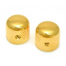 MK-0910-002 Gold Dome Knobs for Split Shaft