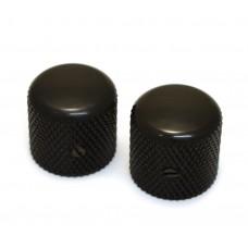 MK-0910-003 Black Dome Knobs for Split Shaft