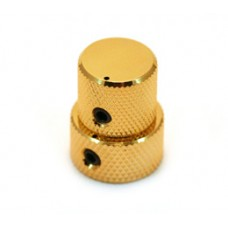 MK-3320-002 Mini Gold Stacked Knob