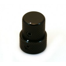 MK-3320-003 Mini Black Stacked Knob