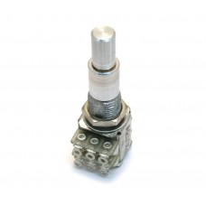 MSP-250 (1) Dual 250k/250k Audio Taper Concentric Mini Guitar/Bass Control Pot