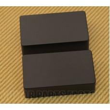 PC-0303-023 Black No Holes Humbucker Pickup Covers