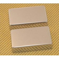 PC-0307-001 Nickel No Holes Humbucker Pickup Covers PAF Style