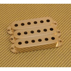 PC-0406-002 (3) Gold Pickup Stratocaster Covers For American Strat® Guitar