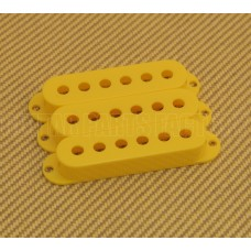 PC-0406-020 (3) Yellow pickup covers for strat