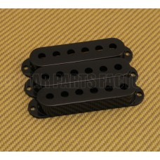 PC-0406-023 (3) Black pickup covers for strat