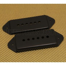 PC-0739-023 P-90 Dog Ear Pickup Covers Black Plastic