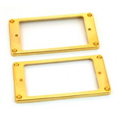PC-0743-002 Gold plated plastic humbucker rings